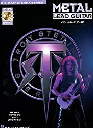 Metal Lead Guitar/Book and Cd (Vol. 1) by Troy Stetina (1992-03-01)