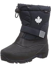 Indigo Canadians Jungen Winter Stiefel Boots 467-185 gefüttert in Dunkelblau