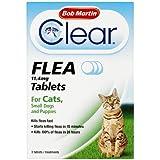Tabletas Bob Martin contra las pulgas para gatos y perros pequeños de menos de 11kg