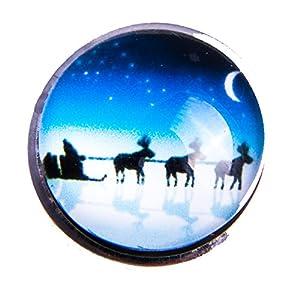 Knopf Winter Druckknopf Button Armband Anhänger Kette Ring C1 Cristmas Weihnachten Elch