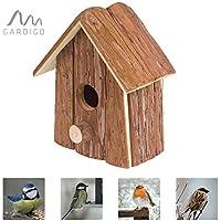 Gardigo Vogel-Nisthaus, Nistkasten, Nisthöhle, Vogelhaus, Vogelhäuschen
