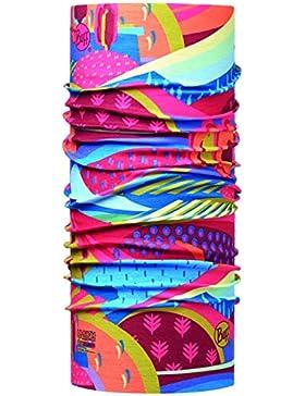Original Buff Colourful Mountains Tubular, Niños, Multicolor, Talla Única