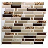 Vamos Tile Premium Anti Schimmel Schälen Und Stick Fliesen Backsplash  Aufkleben Backsplash Wandfliesen Für Küche U0026