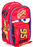 Lightning Mcqueen Cars 3 3D Backpack School Bag Disney Character - Perfect Gift