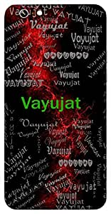 Vayujat (Lord Hanuman) Name & Sign Printed All over customize & Personalized!! Protective back cover for your Smart Phone : Sony Xperia T-2 Ultra