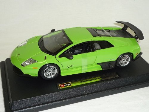 Preisvergleich Produktbild Lamborghini Murcielago Lp670-4 Sv Lp 670 GrÜn Coupe 1/24 Bburago Burago Modellauto Modell Auto