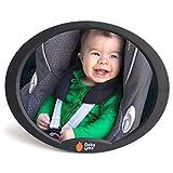Rücksitzspiegel für Babys Autospiegel Baby - Bruchsicheres Acryl-Glas Babyspiegel Auto Zubehör, Kindersitz Spiegel, 360 grad drehbarer Auto Spiegel von EZ Bugz