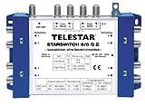 Telestar Starswitch 5/8 G2 Multischalter für 8 Teilnehmern (4 Sat, DVB-T, externes Netzteil: 230V)