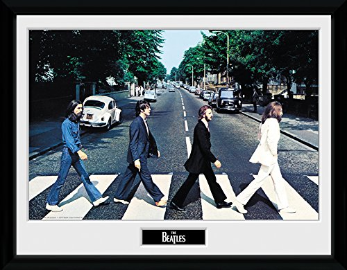 GB Eye Gerahmtes Foto The Beatles Abbey Road, 40 x 30 cm -