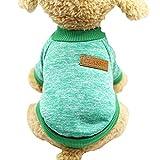 Multi Couleurs Pet Manteau pour Chien Veste Vêtements Automne Hiver Chaud Chiot Chat Pull Manteau Vêtements Vêtements Regard
