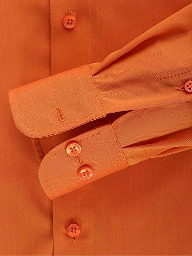 CASAMODA Herren Businesshemd Orange