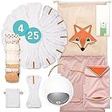 Foxy Baby® Komplettpaket Stoffwindeln S2 (68/98), hergestellt in Deutschland
