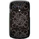 Kult-Tattoo Tribal - Grau Hartschalenhülle Telefonhülle zum Aufstecken für Samsung Galaxy S3 Mini (i8190)