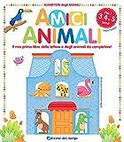 Scarica Libro Amici animali Il mio primo libro delle lettere e degli animali da completare Alfabetiere degli animali (PDF,EPUB,MOBI) Online Italiano Gratis