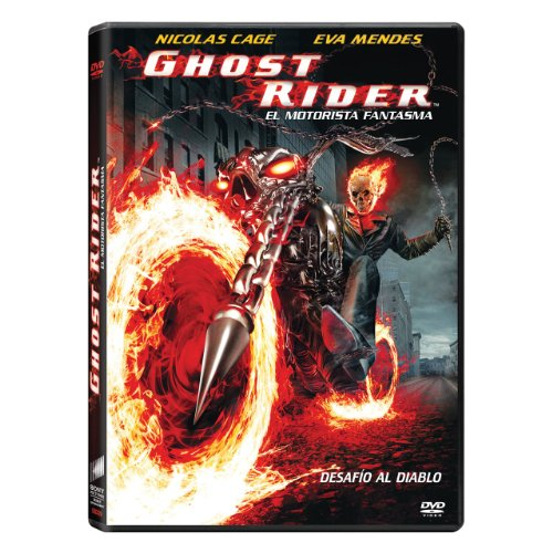 Ghost Rider El Motorista Fantasma (Nuevo Diseño) [DVD]