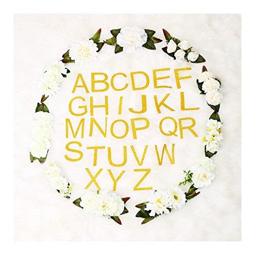 Homyl Baby Decke Swaddle Foto Prop Fotohintergrund-Decke Fotografie Stützen Decke Buchstaben Alphabet Blumen Dekoration