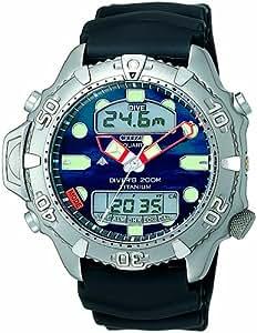 Citizen quartz gents 39 promaster aqualand ii diver titanium watch watches - Citizen titanium dive watch ...