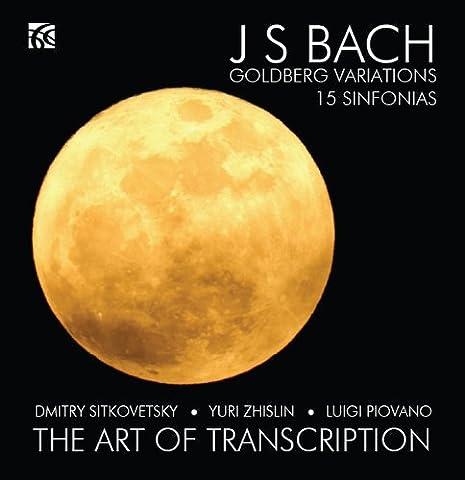 J.S. Bach Goldberg Variations and 15 Sinfonias - arrangements for String Trio by Dmitry Sitkovetsky