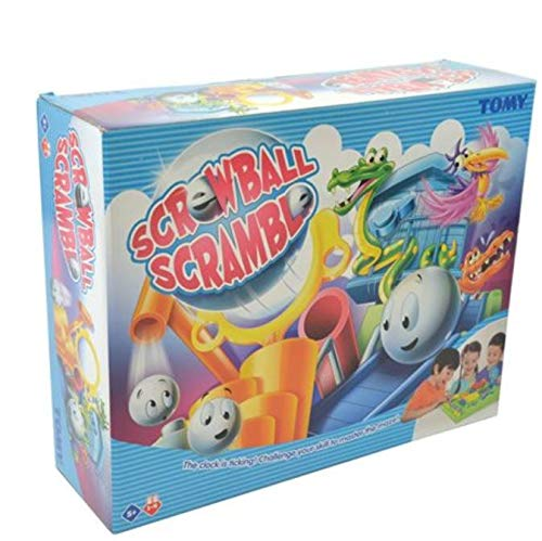 """TOMY Geschicklichkeitsspiel für Kinder \""""Crazy Ball\"""" (Tricky Golf) - hochwertiges Kinderspielzeug - Spieleklassiker Labyrinth Game - ab 5 Jahre"""