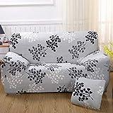 SSDLRSF Ink-Printing Universal-Sofabezug Stretch-Sitzbezüge Couch-Bezug Loveseat Sofa Funiture Warp Slipcovers Abdeckung Hochzeit (90-300cm), 5899,1 Sitzer 90-140cm