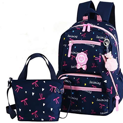 KHDJH RucksackKinder Schultaschen Mädchen Schulrucksack Schultaschen Kinder Prinzessin Rucksack Grundschule Rucksack32