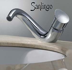 Robinet mitigeur lavabo designer de Sanlingo Iseo