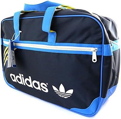 La gran bolsa de fin de semana 'Adidas'marino (49x32x15 cm).
