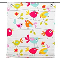 Home fashion 91491-104 - Estor con pasadores, estampados devoré, 140 x 60 cm, varios colores