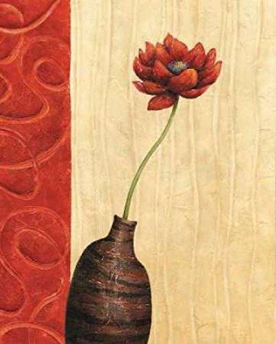 The Poster Corp Delphine Corbin - Rouge III Kunstdruck (20,32 x 25,40 cm) -