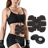 Electroestimulador Abdominales Cinturon, Ab Toner EMS Estimulador muscular Cinturón Abdominal Toning Belt Fitness Equipment para hombres y mujeres