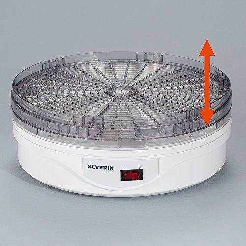 51kyQ02KgvL. SS500  - Severin S72940 OD2940 Fruit Dryer with 250 W of Power OD 2940, White