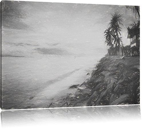 meravigliose-mare-spiaggia-capanne-carbone-effetto-disegno-formato-120x80-su-tela-xxl-enormi-immagin