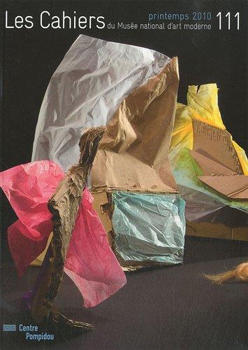 Les Cahiers du Musée national d'art moderne, N° 111, printemps 20 : n111