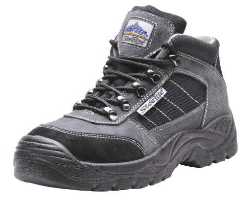 Men's Safety Workwear Steelite Trekker Suede Leather Upper Boot Shoes Safety Boots (Uk Size 6)