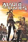 ATAQUE A LOS TITANES 4 par Hajime Isayama