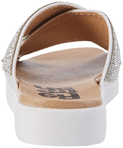 Refresh Damen 63523 Pantoletten Silber (Plata)