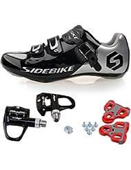 TXJ Rennradschuhe Fahrradschuhe Radsportschuhe mit Klickpedale