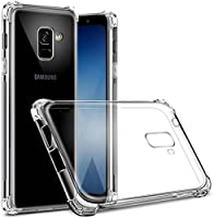 NIK Tech Online Soft Full Protection Premium Crystal Clear TPU Silicon Back Case Cover for Samsung Galaxy J6