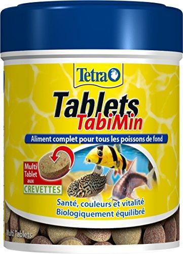 Tetra Tablets tabimin-Alimento Completo per Pesce di Fondo-150ml