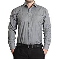 The Standard Men's Formal Shirt_Grey (SKU207_38)