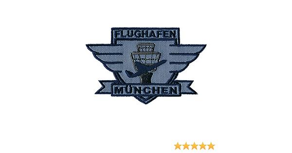AufnÄher München Flughafen 00328 Gr Ca 10 X 6 Cm Patches Stick Applikation Auto