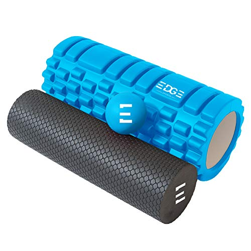 Altera Sports Foam Roller by Best Massage Roller Muscle Roller for Deep Tissue Muscle Massage Yoga Pilates Lower Back Support Exercising and Leg and Back Massaging
