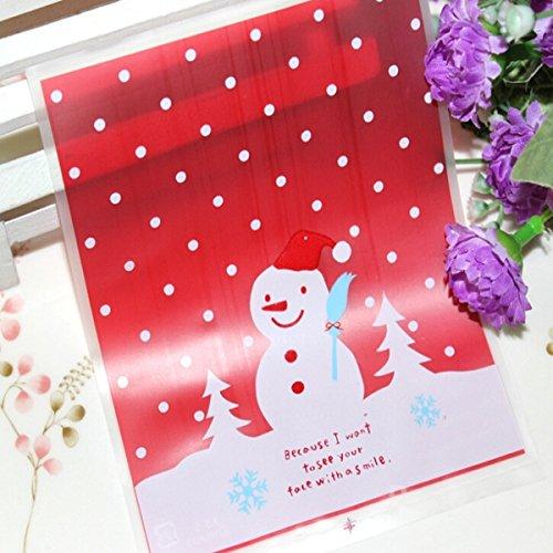 mark8shop-100-lot-lovely-weihnachten-schneemann-cookie-tasche-ziploc