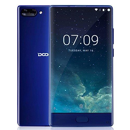 DOOGEE MIX - 6 GB + 64 GB Smartphone 4G 5.5 Pollici - Super AMOLED - Android 7.0 - Helio P25 - Octa Core 2.5GHz - Corpo del Metallo - 8MP 16MP + Dual...