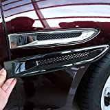 Car Accessories ABS Chrome Side Fender Air Vent Outlet Cover Trim For Jag XF XFL XE F-Pace F pace X761