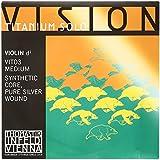 Thomastik Vision titanium solo vit-03 Alma sintética-ent. plata 99'9% 3ª-medium-violín 4/4