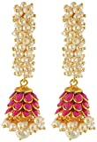 Rajasthani Traditions Pink Stone Studded...