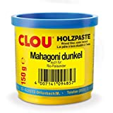 CLOU Holzpaste wasserverdünnbar mahagoni dunkel 150g