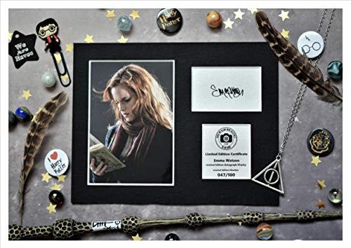 Emma Watson firmado autógrafo pantalla–Hermione Granger–H