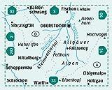 KOMPASS Wanderkarte Oberstdorf, Kleinwalsertal: 3in1 Wanderkarte 1:25000 mit Aktiv Guide inklusive Karte zur offline Verwendung in der KOMPASS-App - ... Langlaufen - (KOMPASS-Wanderkarten, Band 3) -